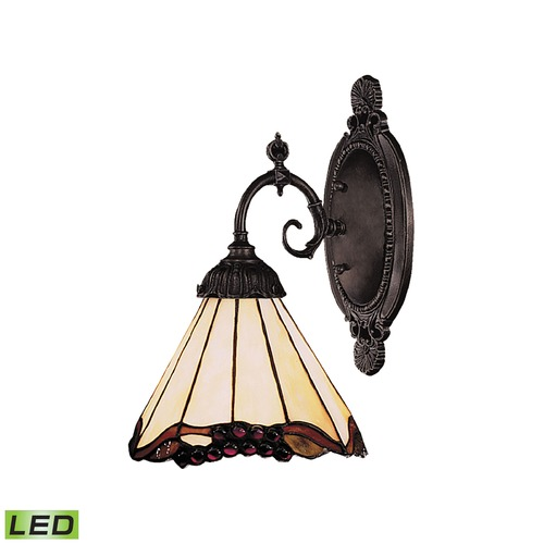 Elk Lighting Elk Lighting Mix-N-Match Tiffany Bronze LED Sconce 071-TB-03-LED