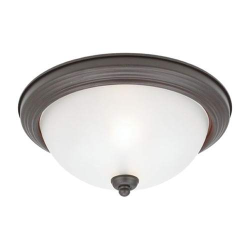 Sea Gull Lighting Sea Gull Lighting Ceiling Flush Mount Misted Bronze Flushmount Light 79364BLE-814