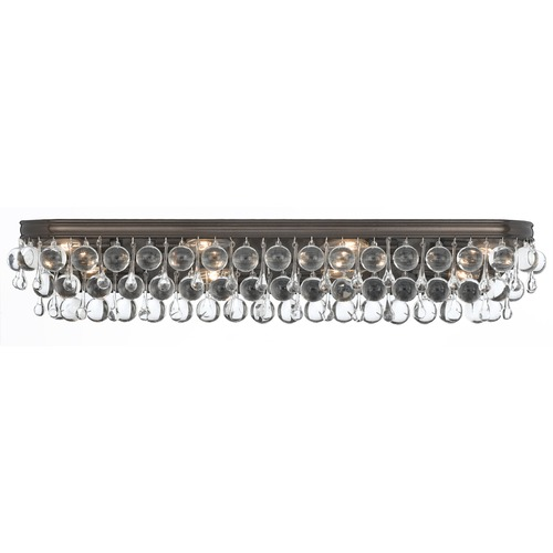 Crystorama Lighting Crystorama Lighting Calypso Vibrant Bronze Bathroom Light 134-VZ