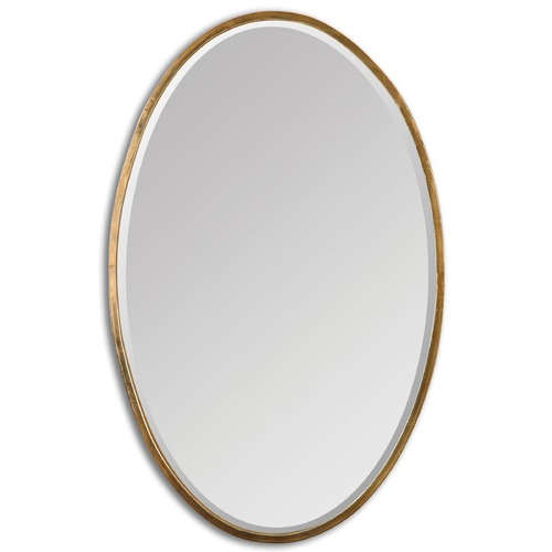 Uttermost Lighting Uttermost Herleva Gold Oval Mirror 12894
