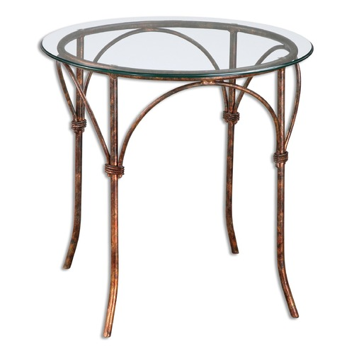 Uttermost Lighting Uttermost Stasia Glass Accent Table 24470