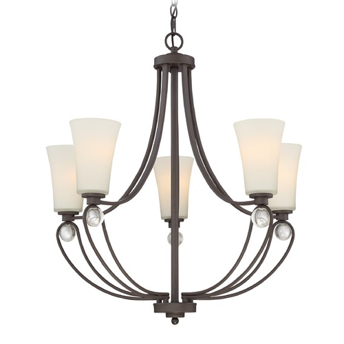 Quoizel Lighting Quoizel Lighting Amelia Old Bronze Chandelier AML5005OZ