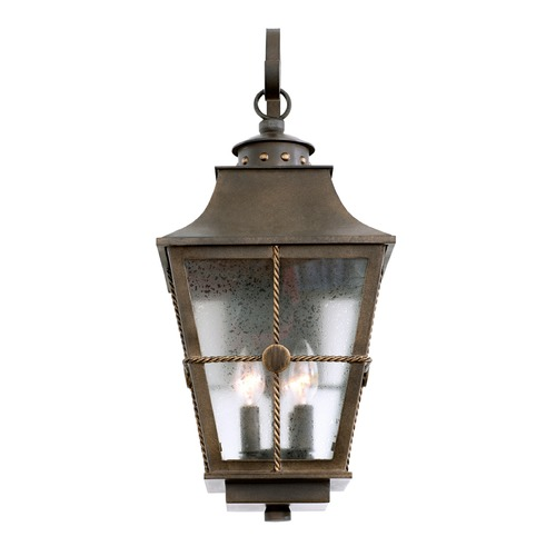 Kalco Lighting Kalco Belle Grove Aged Bronze Outdoor Wall Light 403523AGB