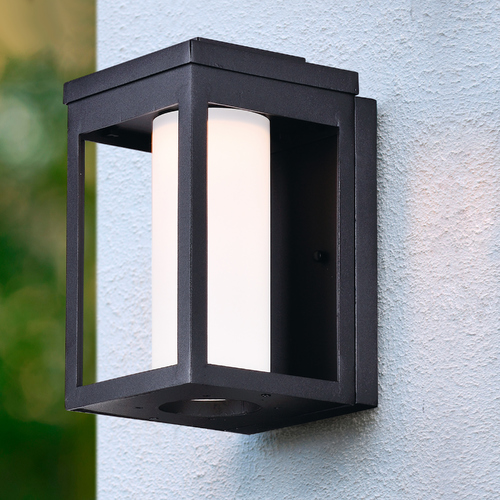 Maxim Lighting Maxim Lighting Salon LED Black LED Outdoor Wall Light 55902SWBK