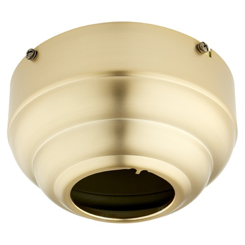 Quorum Lighting Quorum Lighting Ceiling Adaptor Aged Brass Fan Accessory 7-1745-80
