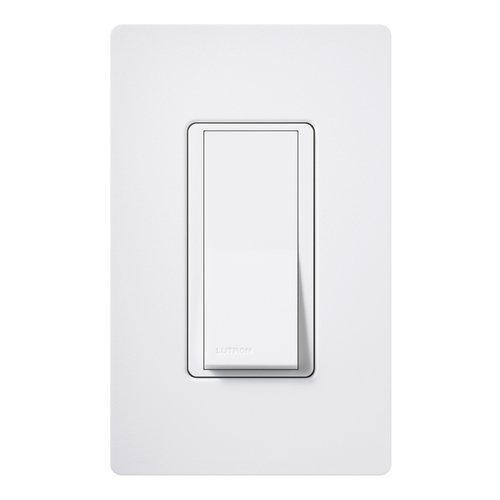 Lutron Dimmer Controls General Purpose White Paddle Light Switch SC-1PS-SW
