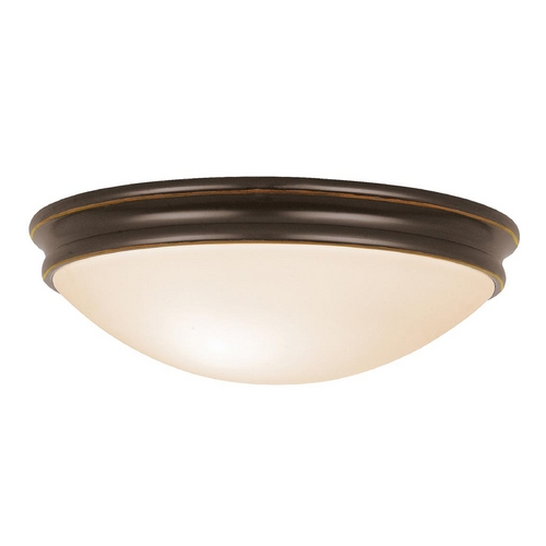 Access Lighting Access Lighting Atom Oil Rubbed Bronze Flushmount Light C20725ORBOPLEN1218BS