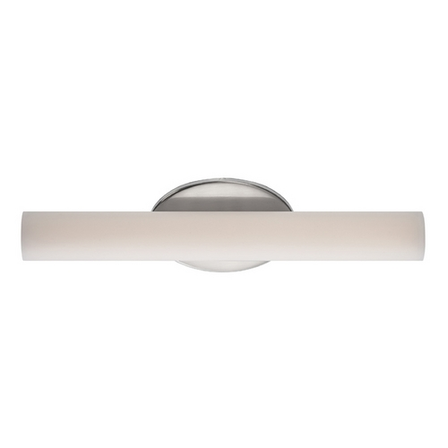 Modern Forms by WAC Lighting Loft Brushed Nickel LED Bathroom Light - Vertical or Horizontal Mounting WS-3618-BN
