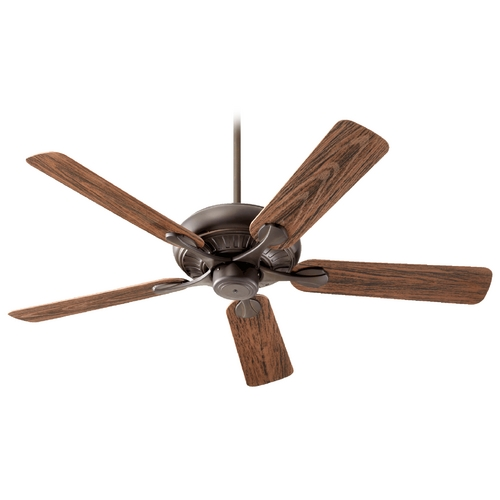 Quorum Lighting Quorum Lighting Pinnacle Patio Oiled Bronze Ceiling Fan Without Light 191525-86