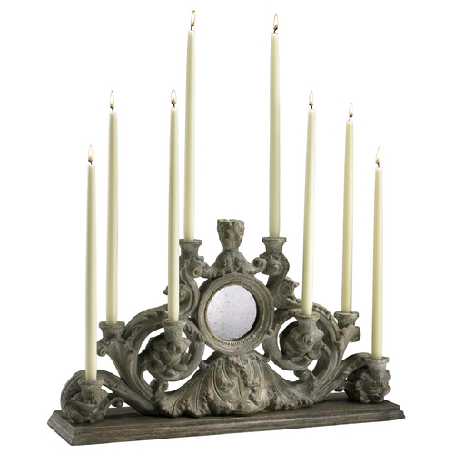 Cyan Design Cyan Design European Washed Ash Candle Holder 04104