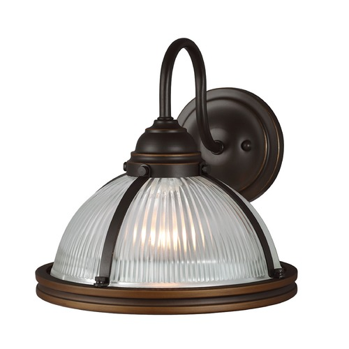 Sea Gull Lighting Sea Gull Lighting Pratt Street Sconces Autumn Bronze Sconce 41060-715