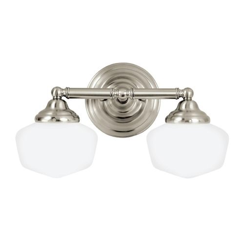 Sea Gull Lighting Sea Gull Lighting Academy Brushed Nickel LED Bathroom Light 44437EN3-962