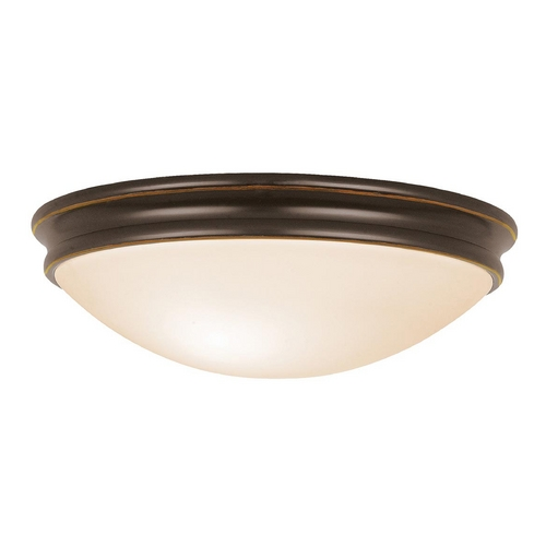 Access Lighting Access Lighting Atom Oil Rubbed Bronze Flushmount Light C20726ORBOPLEN1218BS