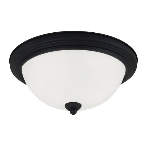 Sea Gull Lighting Sea Gull Lighting Ceiling Flush Mount Blacksmith Flushmount Light 79364BLE-839