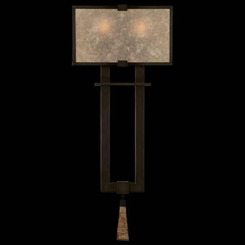 Fine Art Lamps Fine Art Lamps Singapore Moderne Brown Patinated Bronze Sconce 600550ST