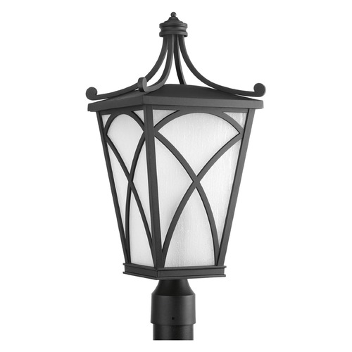 Progress Lighting Progress Lighting Cadence Black Post Light P6435-31