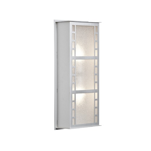 Besa Lighting Besa Lighting Napoli Brushed Aluminum Outdoor Wall Light NAPOLI16-GL-BA