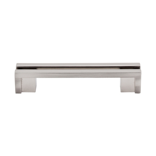Top Knobs Hardware Modern Cabinet Pull in Brushed Satin Nickel Finish TK55BSN