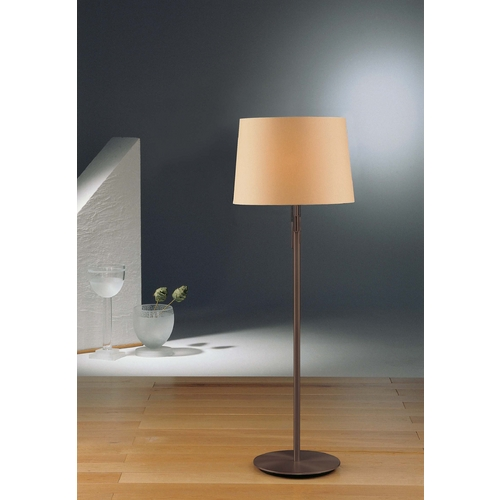 Holtkoetter Lighting Holtkoetter Modern Floor Lamp with Beige / Cream Shades in Hand-Brushed Old Bronze Finish 2545 HBOB KPRG