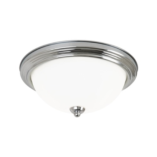 Sea Gull Lighting Sea Gull Lighting Ceiling Flush Mount Chrome Flushmount Light 79364BLE-05