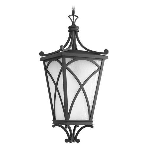 Progress Lighting Progress Lighting Cadence Black Outdoor Hanging Light P6535-31