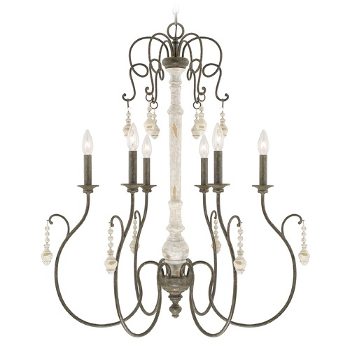 Capital Lighting Capital Lighting Vineyard French Country Chandelier 410362FC