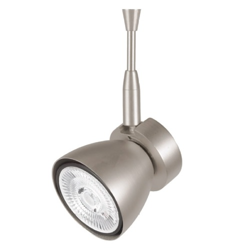 WAC Lighting WAC Lighting Mint Brushed Nickel LED Track Light 3000K 450LM QF-816LED-BN