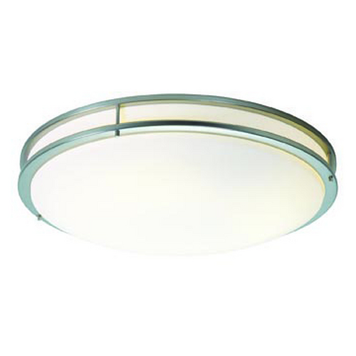 Access Lighting Access Lighting Saloris Brushed Steel Flushmount Light C20741BSACREN1313B