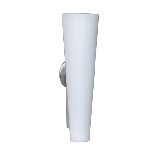 Besa Lighting Besa Lighting Tino Brushed Aluminum Outdoor Wall Light 3NW-780507-AL