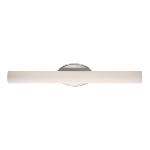 Modern Forms by WAC Lighting Loft Brushed Nickel LED Bathroom Light - Vertical or Horizontal Mounting WS-3624-BN