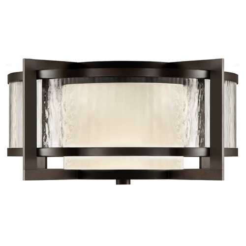 Fine Art Lamps Fine Art Lamps Singapore Moderne Outdoor Dark Bronze Patina Close To Ceiling Light 817982ST