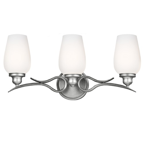 Feiss Lighting Feiss Lighting Standish Heritage Silver Bathroom Light VS21303HTSL