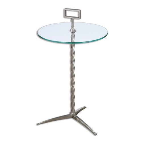 Uttermost Lighting Uttermost Rozza Glass Accent Table 24476