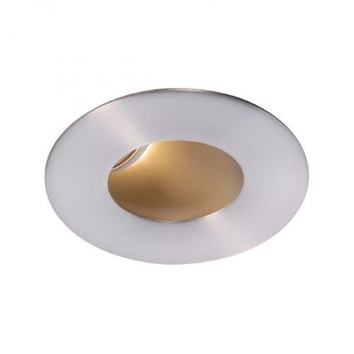 WAC Lighting WAC Lighting Round Brushed Nickel 2-Inch LED Recessed Trim 3000K 565LM 40 Degree HR2LEDT409PF930BN