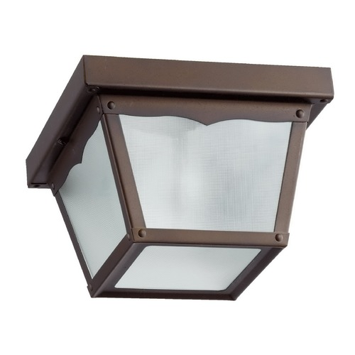 Quorum Lighting Quorum Lighting Oiled Bronze Close To Ceiling Light 3080-7-86
