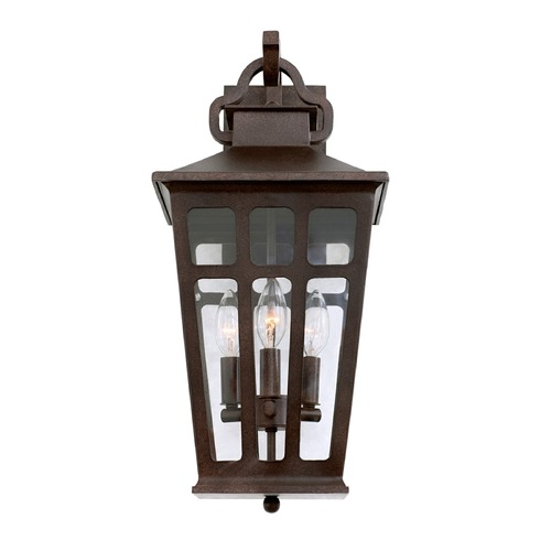 Kalco Lighting Kalco Shorecrest Old Rust Outdoor Wall Light 403622OR