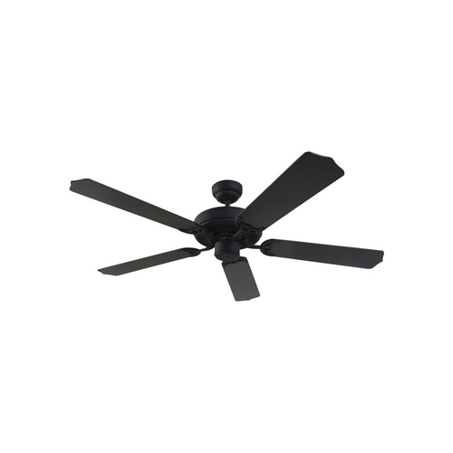 Sea Gull Lighting Ceiling Fan Without Light in Blacksmith Finish 15030-839