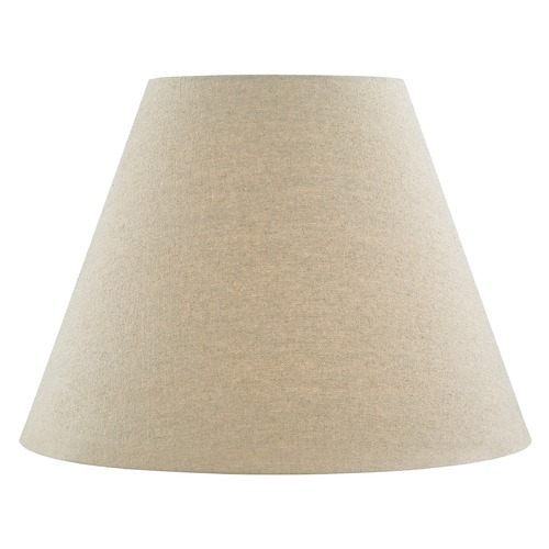 Design Classics Lighting Oatmeal Linen Empire Fabric Lamp Shade with Spider Assembly SH9706