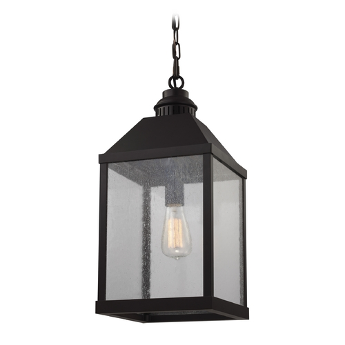 Feiss Lighting Feiss Lighting Lumiere Oil Rubbed Bronze Mini-Pendant Light with Rectangle Shade F2959/1ORB