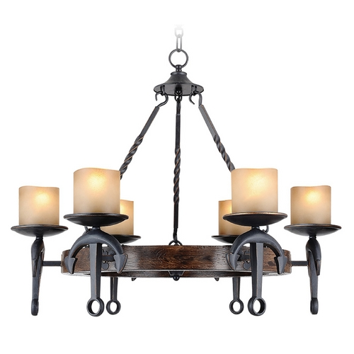 Livex Lighting Livex Lighting Cape May Olde Bronze Chandelier 4866-67