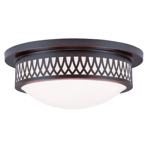 Livex Lighting Livex Lighting Westfield Olde Bronze Flushmount Light 7353-67