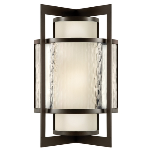 Fine Art Lamps Fine Art Lamps Singapore Moderne Outdoor Dark Bronze Patina Outdoor Wall Light 818081ST