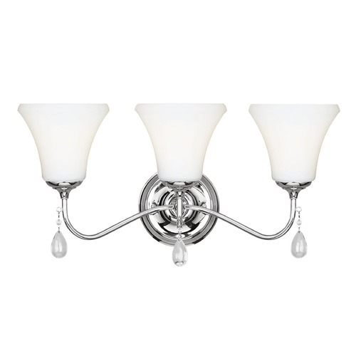 Sea Gull Lighting Sea Gull Lighting West Town Chrome Bathroom Light 4410503-05