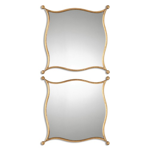 Uttermost Lighting Uttermost Sibley Gold Mirrors, Set of 2 12902