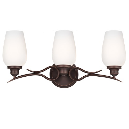 Feiss Lighting Feiss Lighting Standish Oil Rubbed Bronze with Highlights Bathroom Light VS21303ORBH