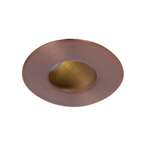 WAC Lighting WAC Lighting Round Copper Bronze 2-Inch LED Recessed Trim 3000K 565LM 40 Degree HR2LEDT409PF930CB