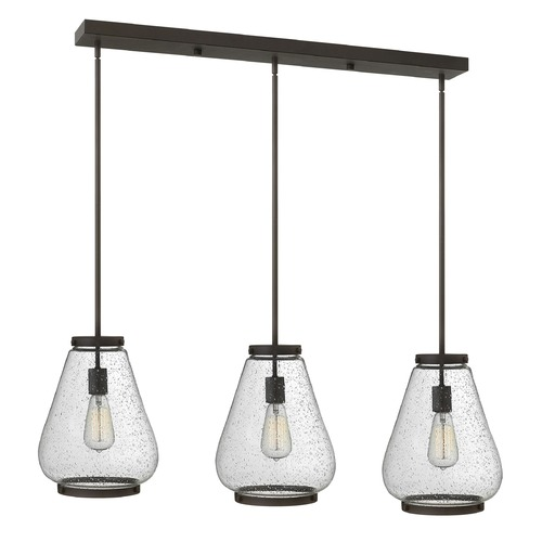 Hinkley Lighting Hinkley Lighting Finley Oil Rubbed Bronze Mini-Pendant Light with Urn Shade 3685OZ