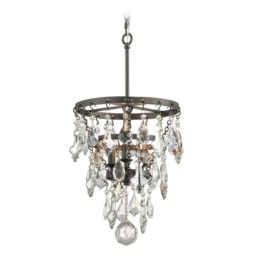 Troy Lighting Troy Lighting Meritage Graphite Pendant Light F4315