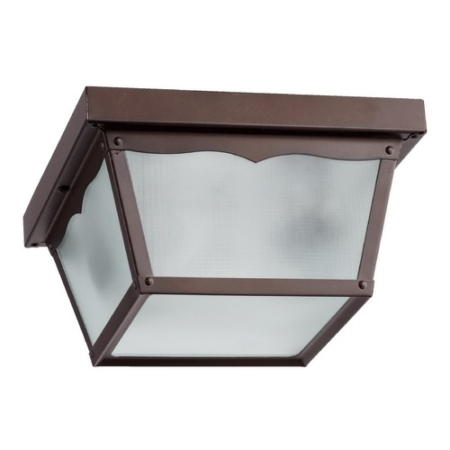 Quorum Lighting Quorum Lighting Oiled Bronze Close To Ceiling Light 3080-9-86