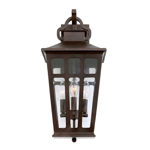Kalco Lighting Kalco Shorecrest Old Rust Outdoor Wall Light 403623OR